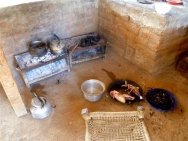 Soudan du Sud. Cuisine de terrain.
