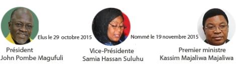 Les dirigeants tanzaniens