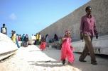 Célébration de l'Aïd al-Fitr, le 28 juillet 2014, sur la plage du Lido, à Mogadiscio. @ Tobin Jones/AMISOM.