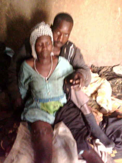 Yagoub, 25 ans, blessée lors de l'attaque de son village, le 2 mars 2016. © Radio Dabanga.