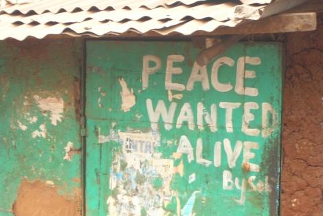 Kibera, Nairobi, le 10 août 2009