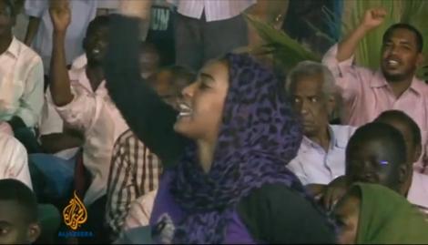 Manifestation en septembre 2013, à Khartoum.