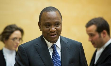 CPI, La Haye, 8 octobre 2014. Uhuru Kenyatta, en «simple citoyen».