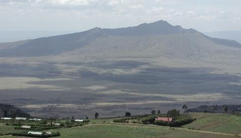 Dans la vallée du Rift, le Longonot