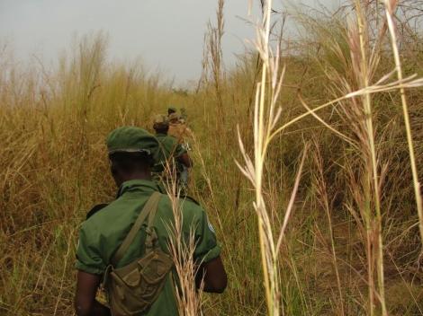 L'organisation américaine Enough Project suit une patrouille des forces de défense populaire de l'Ouganda à la poursuite de l'Armée de libération du Seigneur de Joseph Kony.