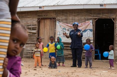 Opération de protection de l'Enfance de la mission des Nations unies au Soudan du Sud © Nations unies.