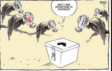 Dessin de Victor Ndula. The Star (Kenya)