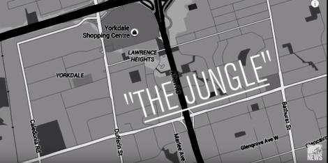 La carte du rap de Toronto sur MTV News