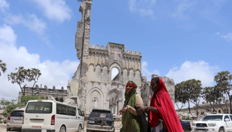 La cathédrale de Mogadiscio. 2015.
