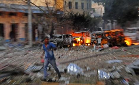 L'attaque contre l'hôtel Ambassador à Mogadiscio