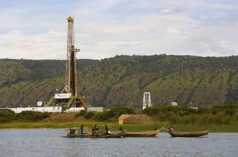 Prospection de pétrole en Ouganda