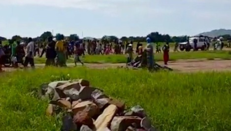 Juba, 9 juillet 2016. La population fuit les combats dans la capitale