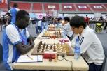 Ronde d'échecs Soudan du Sud-Corée du Sud. 42èmes Olympiades, Bakou, Azerbaïdjan
