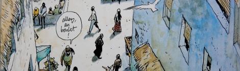 Extrait de Kililana Song Benjamin Flao. Editions Futuropolis