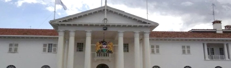 State House, palais présidentiel, Nairobi, Kenya