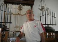 Samuel Cohen, Asmara. 2005. En charge de la synagogue. Cette année-là, la communauté comptait 6 personnes.